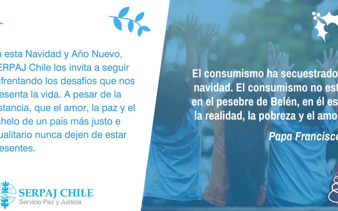 ¡SERPAJ Chile te desea Feliz Navidad y Próspero Año Nuevo!
