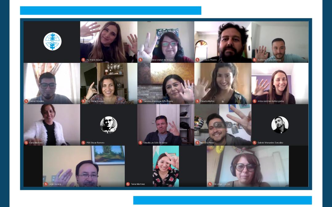 Programas de Serpaj Coquimbo se reúnen en Jornada de Trabajo sobre metodología Smart
