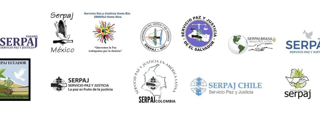 PRONUNCIAMIENTO OFICIAL DEL SERVICIO PAZ Y JUSTICIA EN AMÉRICA LATINA, SERPAJ-AL