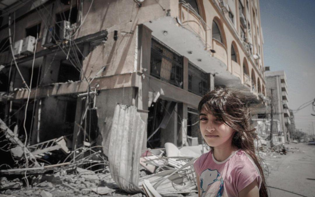 Los niños se llevan los golpes más duros de la violencia en Gaza