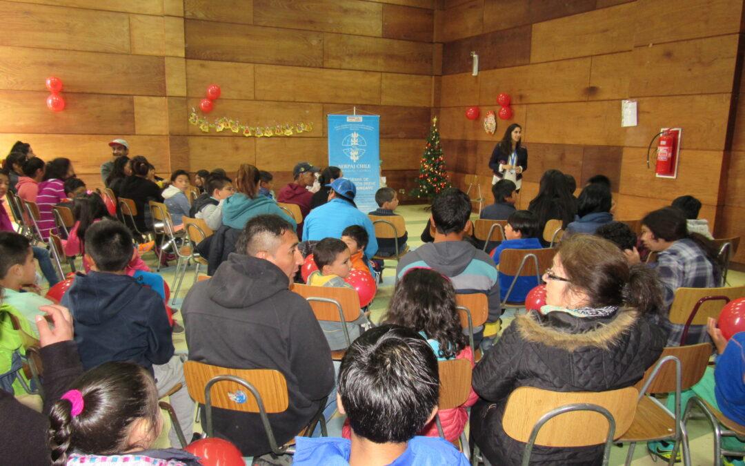 Navidad en SERPAJ Reloncaví: Mirasol y Lagunitas apuestan por la paz!